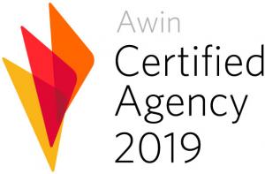 AWIN Zertifizierte Agentur 2019