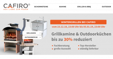 CAFIRO Wintergrillen Aktion