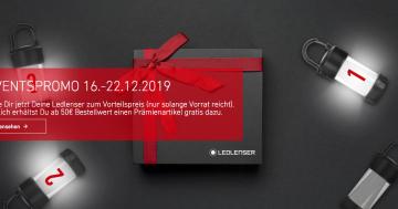 LEDLENSER Advents-Aktion