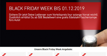 LEDLENSER Black Friday Week