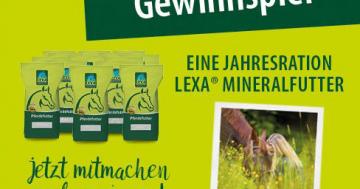 LEXA Mineralfutter Gewinnspiel 2020
