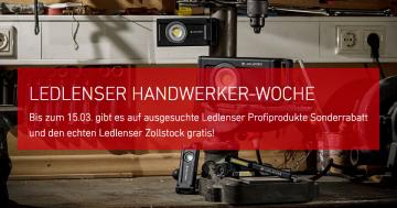 LEDLENSER Handwerkerwoche-Aktion