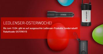 LEDLENSER Osterwoche-Aktion