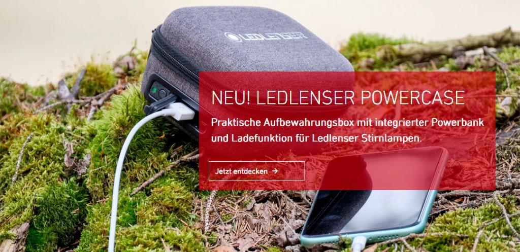 LEDLENSER Powercase Produktneuheit 2020