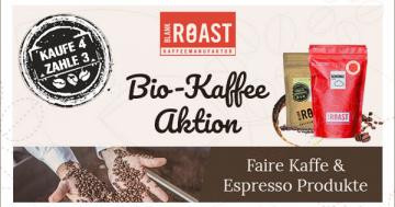 Bio-Kaffee-Aktion Blankroast