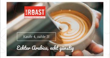 Arabica-Kaffee-Aktion Blankroast