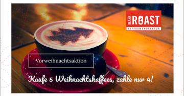 Weihnachts-Kaffee-Aktion Blankroast