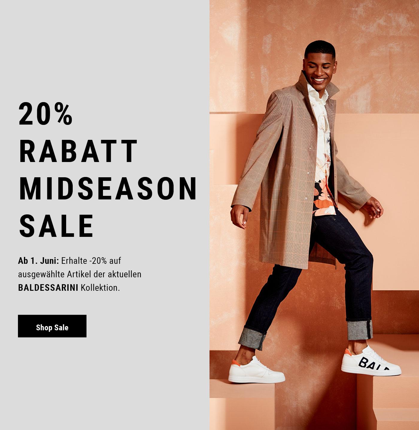 Midseason-Sale bei Baldessarini