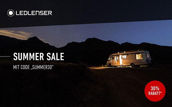 Summer-Sale bei Ledlenser