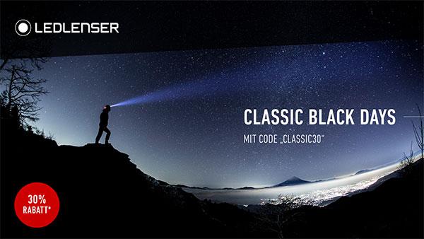 Classic-Black-Sale bei Ledlenser
