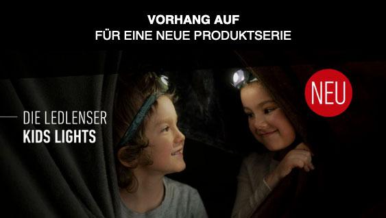 Stirnlampen für Kinder bei Ledlenser